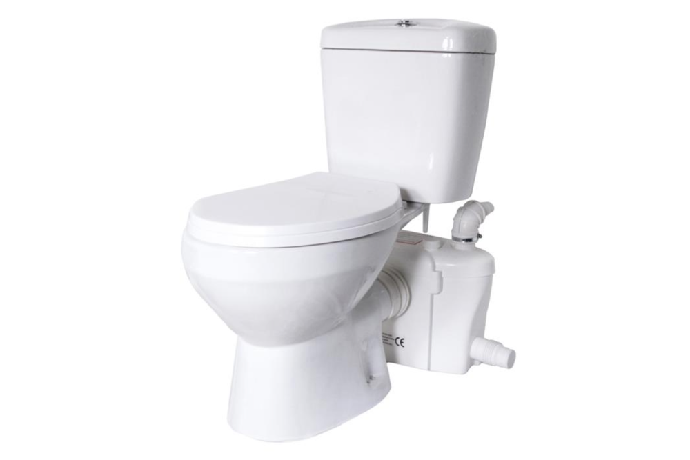 Lift Assure Round Macerating Toilet Kit - tinylifesupply.com
