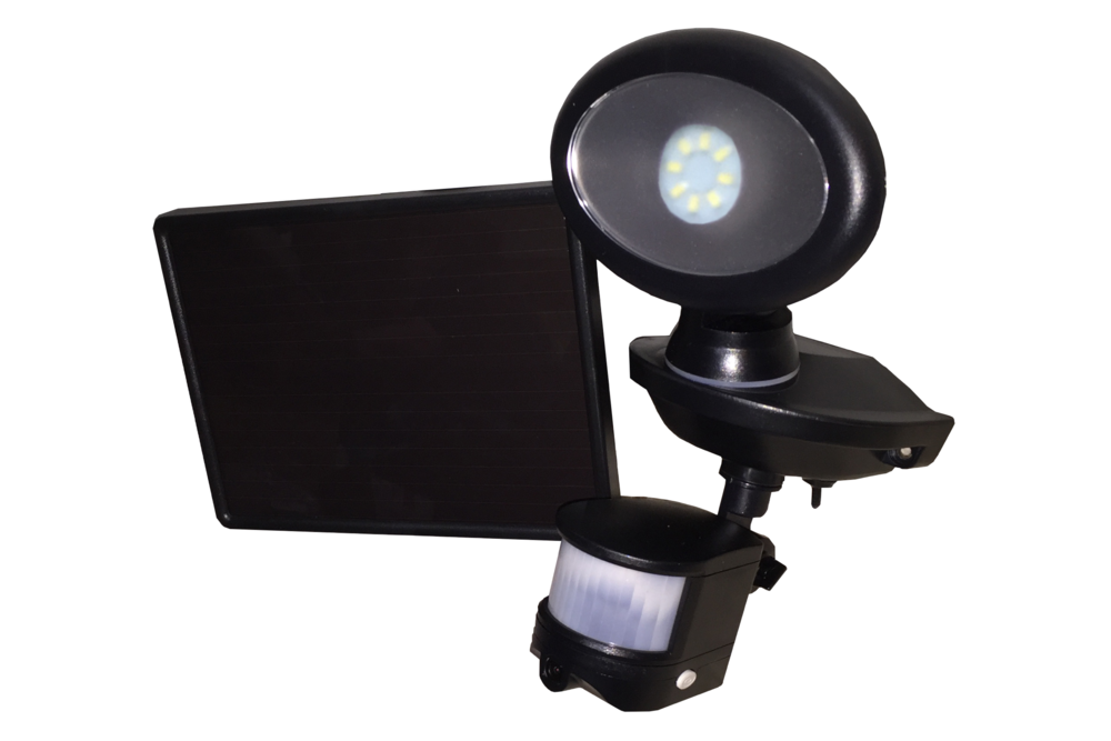 Maxsa Solar Security Camera and Spotlight - tinylifesupply.com