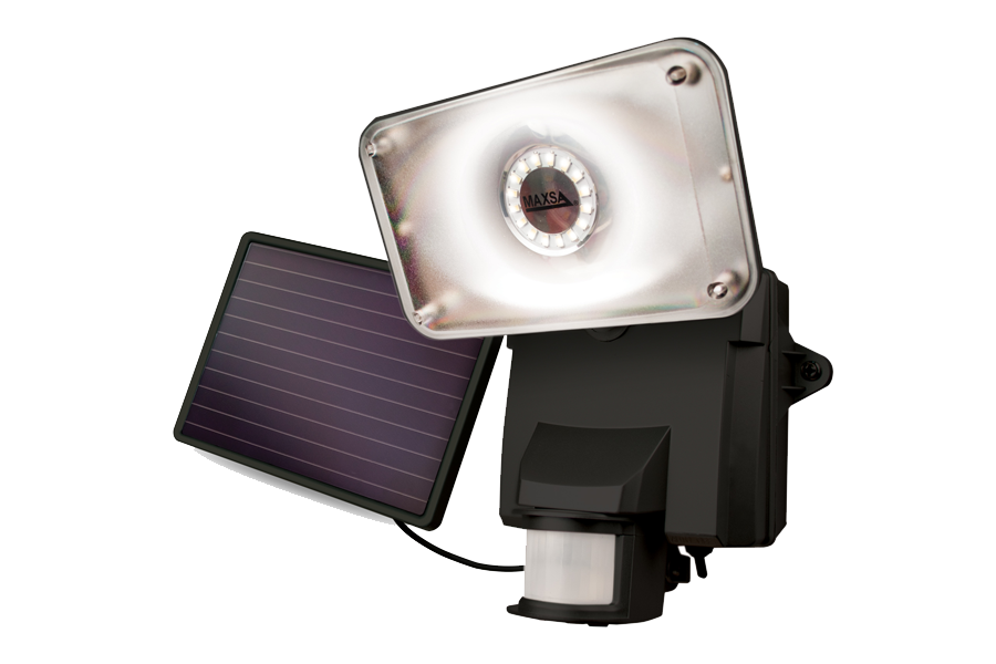 Maxsa Solar Security LED Floodlight - tinylifesupply.com