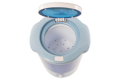 Laundry Alternative's Mini Countertop Spin Dryer