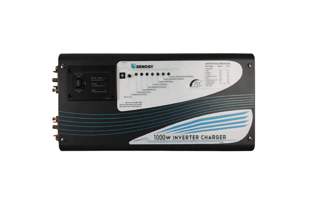 Renogy 1000W Pure Sine Wave Inverter Charger - tinylifesupply.com