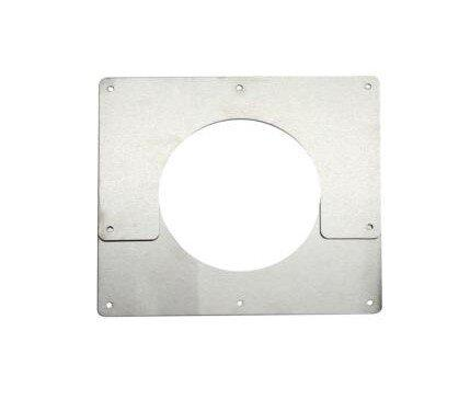 "Cubic 5"" Stainless Steel Ceiling Trim Plate - tinylifesupply.com"