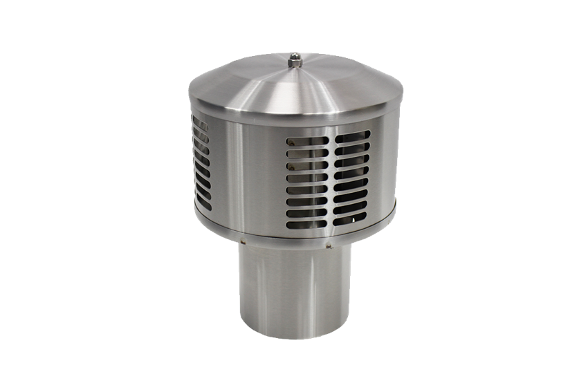 Dickinson Marine Stainless Steel DP Exhaust Cap - tinylifesupply.com