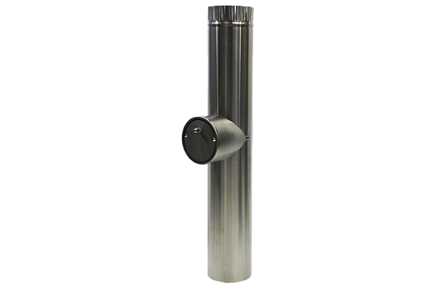 Dickinson Marine Stainless Steel Pipe with Barometric Damper - tinylifesupply.com