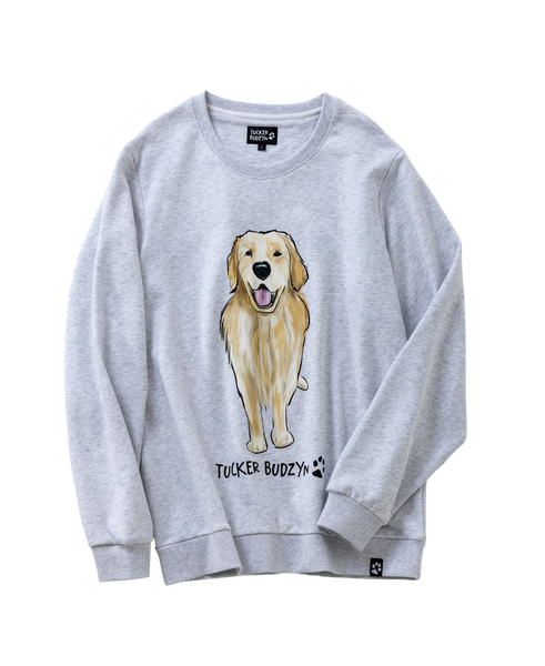 Watercolor Tucker Crewneck