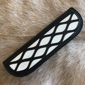 Silver Crackle Lattice Inlay