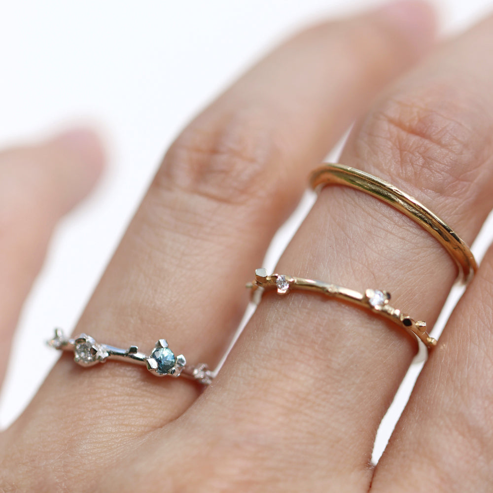 Load image into Gallery viewer, Double Loop Ring - Flat - Cabinetofcuriosityjewellery