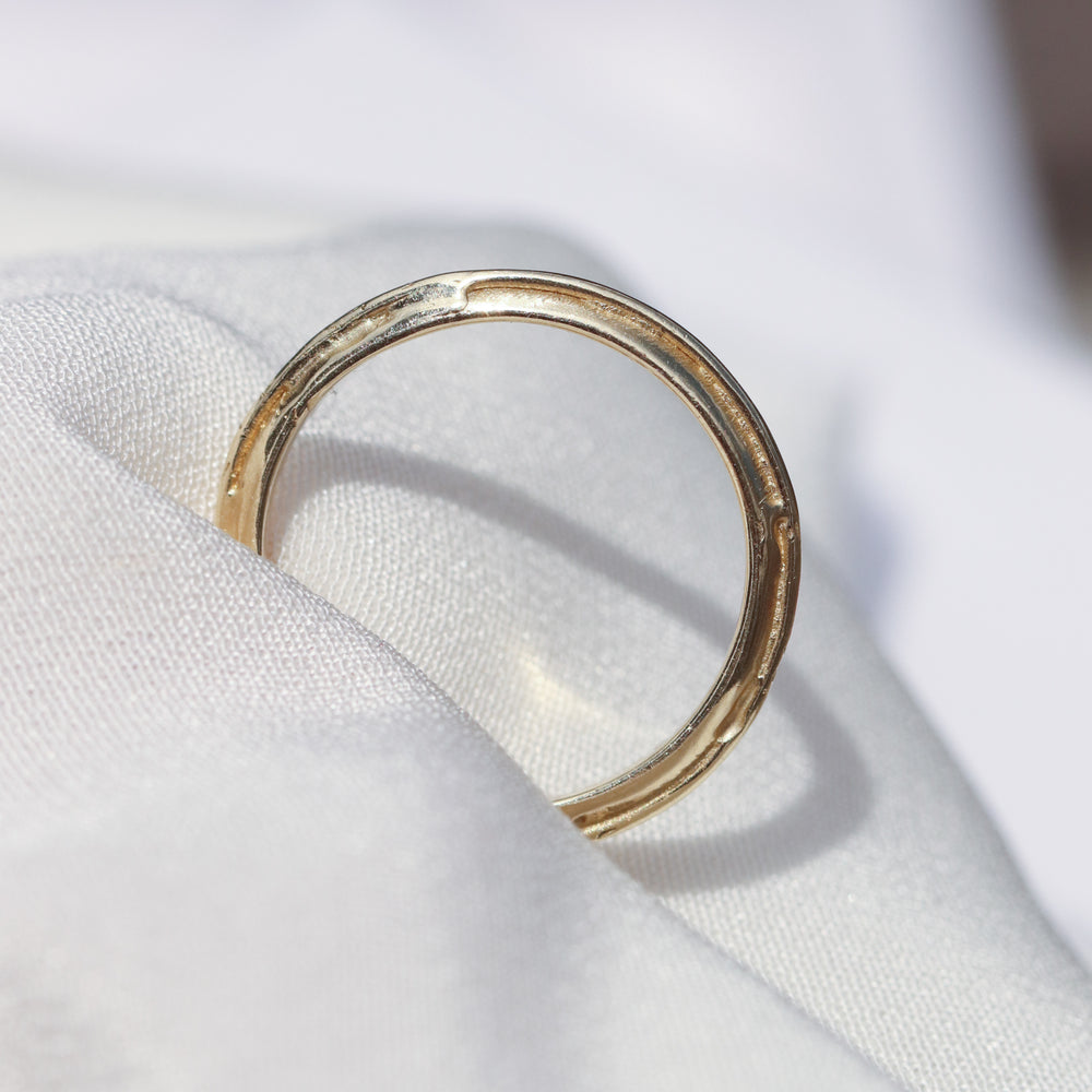 Double Loop Ring - Flat