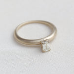 Moon Solitaire Ring (additional charges may apply)