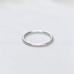 Textured Stackable Ring