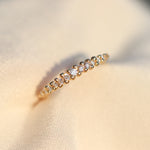Colourless Diamond Stackable Ring