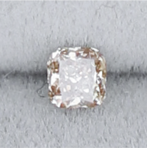 XS007 Brown Diamond (2.4 x 2.4mm) - Cabinetofcuriosityjewellery