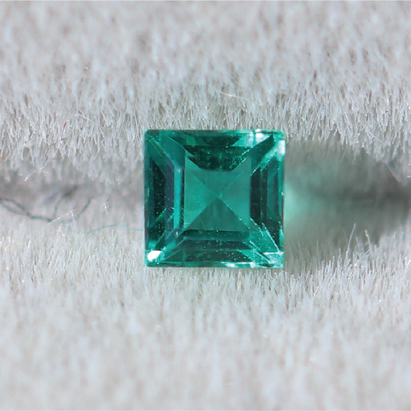 Load image into Gallery viewer, XS023 Emerald (1.9 x 2.9mm 0.07ct) Cabinetofcuriosityjewellery