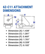 62-C11 ATTACHMENT