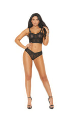 Fitted Bustier & Panty Set