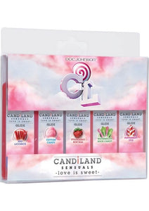 Candiland Sensuals Flavored Body Glide Assorted 5 Pack