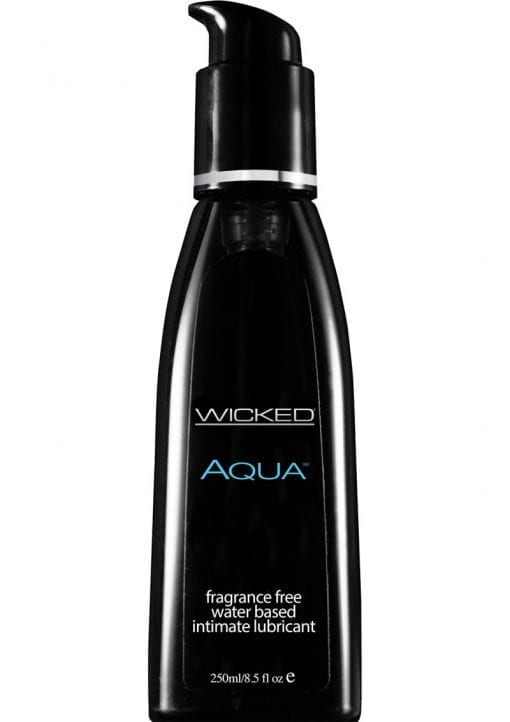 Wicked Aqua vegan Free PETA Certified Water Based Lube Unscented