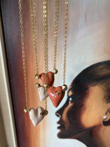 Catmamola - Tiny Heart Necklace