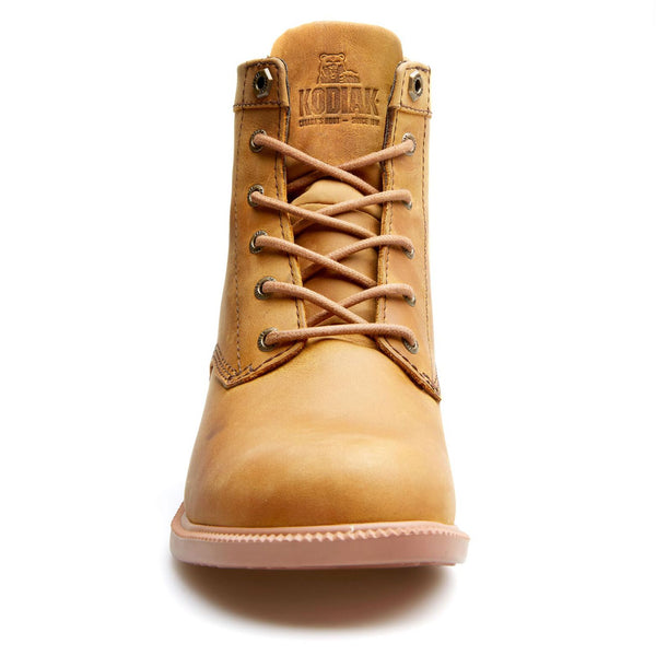 Kodiak - Original Lace-up Waterproof Boot in Curry