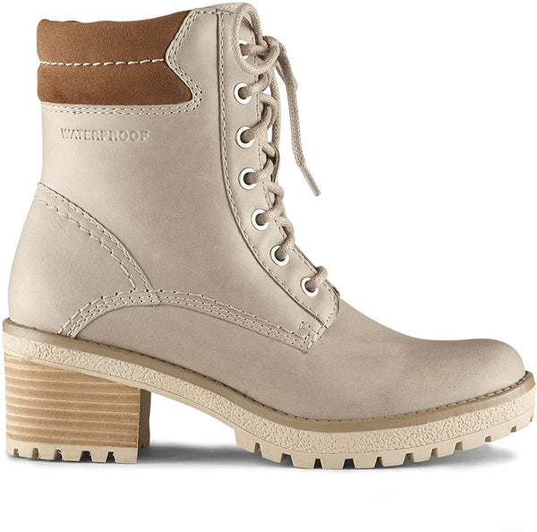 Cougar - Danbury Lace-up Waterproof Boot in Mushroom
