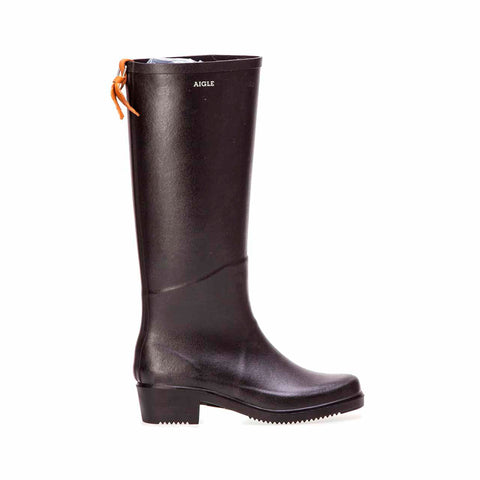 Aigle - Tall Juliette Boot Black