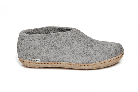 Glerups - Grey Shoe Leather Sole