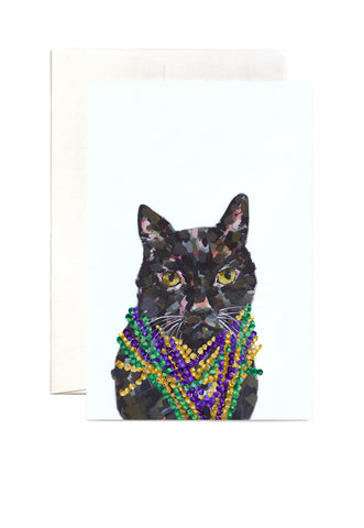 Ashforth Press - Bling Cat Card