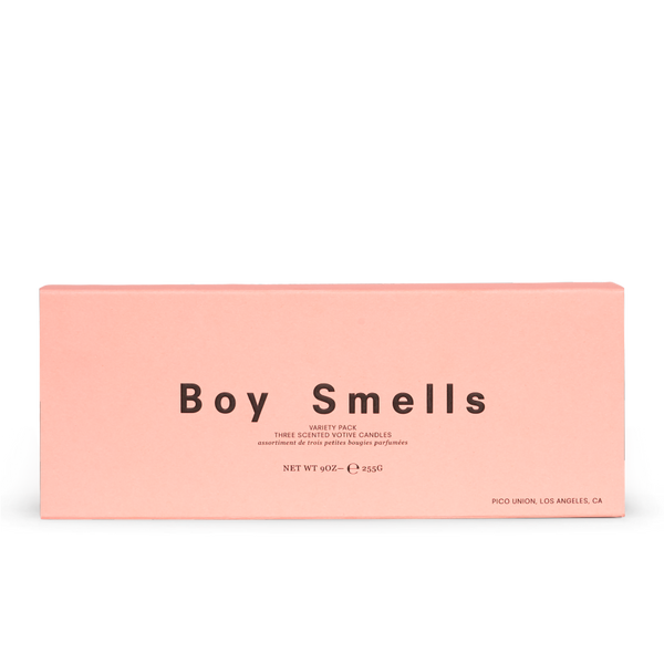 Boy Smells - Votive Trio Kush, Ash, Cedar Stack