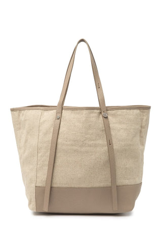 Christopher Kon - Linen Tote in Taupe
