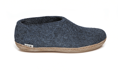 Glerups - Denim Shoe Leather Sole