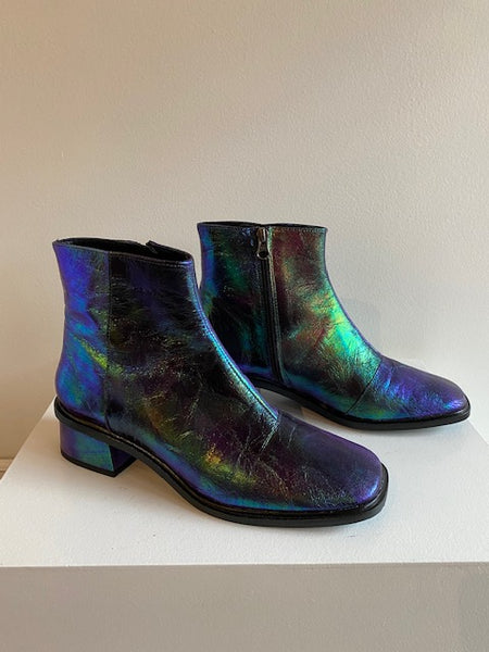 L'intervalle - Galway Metallic Boots