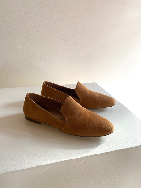 Bos & Co - Faie Loafer Caramel Suede