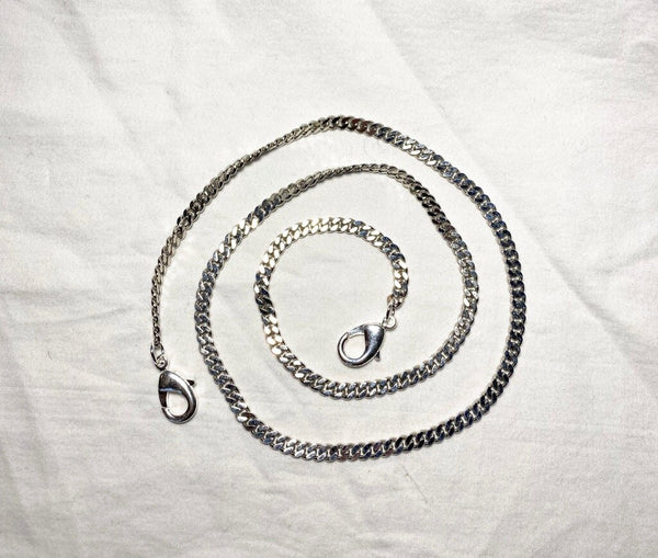 Rachel Rose - Face Mask Chain in Silver