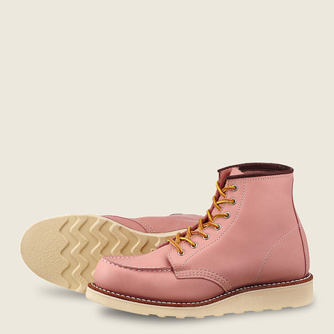 Red Wing - Moc Boot Rose Leather