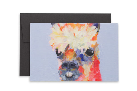 Ashforth Press - Alpaca Card