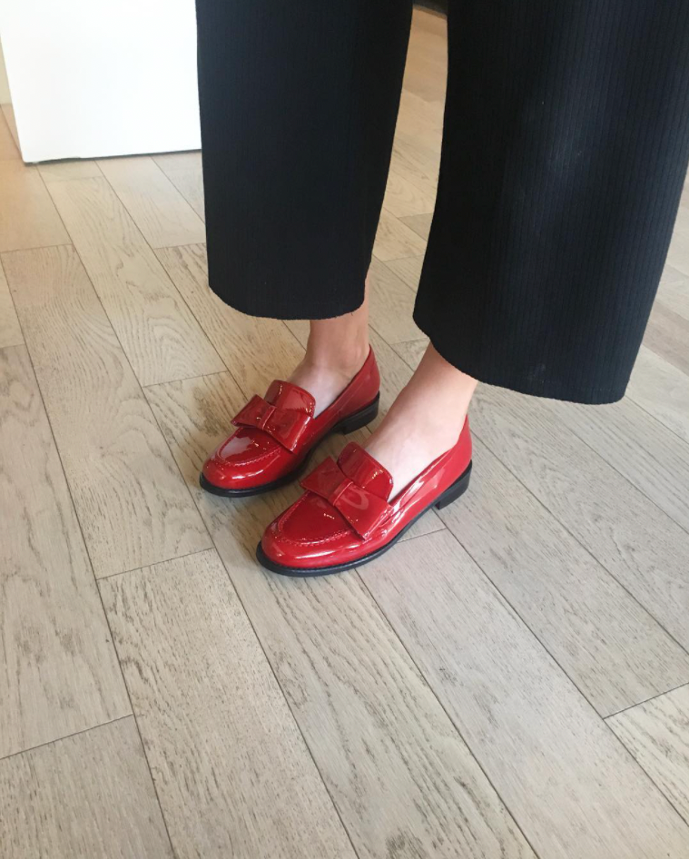 Gadea Shoes - Red Patent Leather Loafers