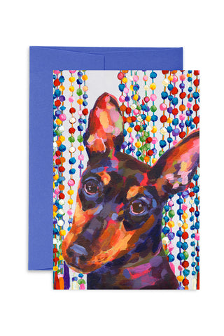 Ashforth Press - Shimmer Dog Card
