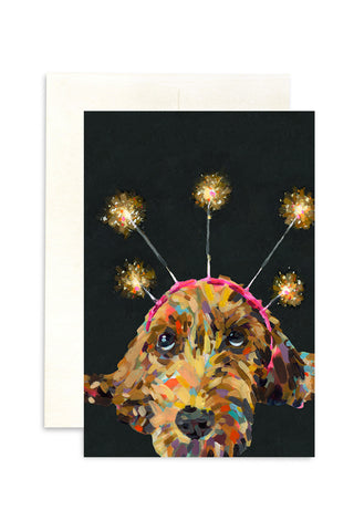 Ashforth Press - Spark Dog Card