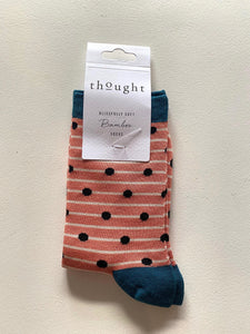 Thought Socks - Dots Black