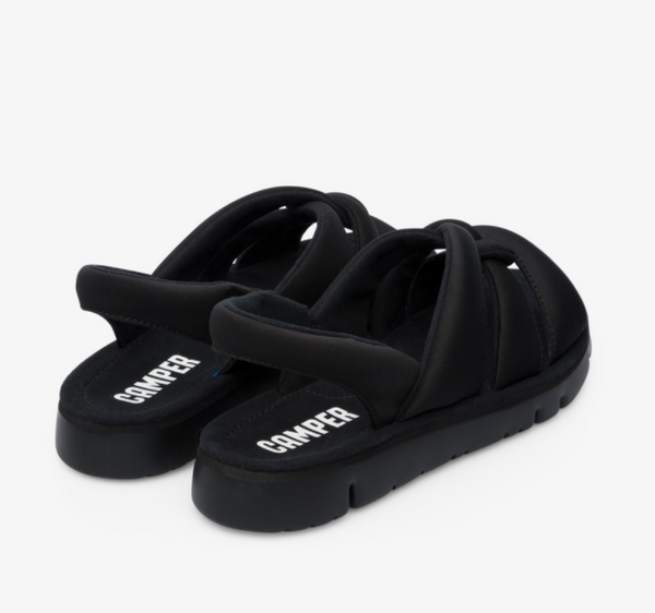 Camper - Slip-in Sandal in Black
