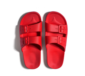Freedom Moses - Sandals in Fuji Red