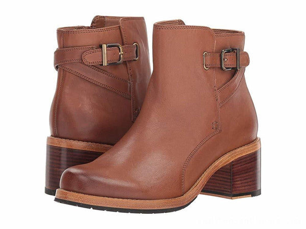Clarks - Jax Ankle Boot in Dark Tan