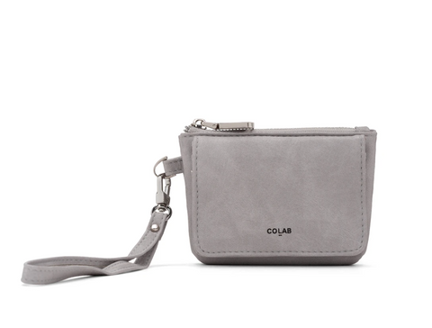 Co-Lab - Wristlet Coin Purse in Grey