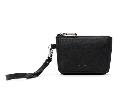 Co-Lab - Wristlet Coin Purse in Black