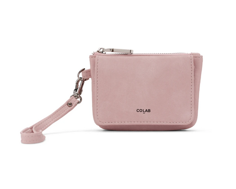 Co-Lab - Wristlet Coin Purse in Pink