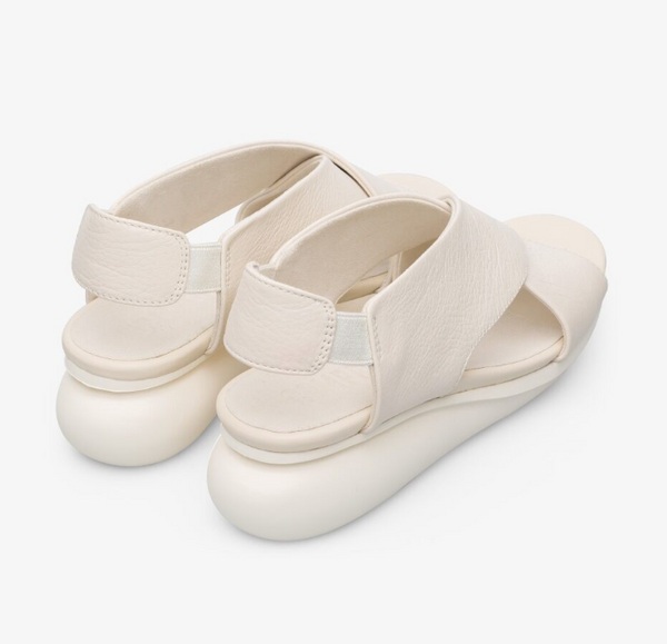 Camper - Bubble Sandal in Cream