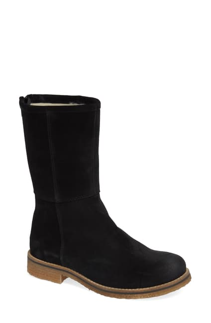 Bos & Co - Bell Waterproof Suede Boot in Black