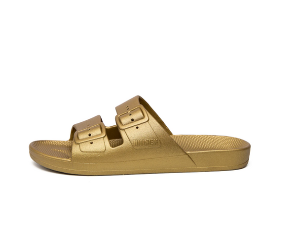 Freedom Moses - Sandals in Goldie (Metallic)