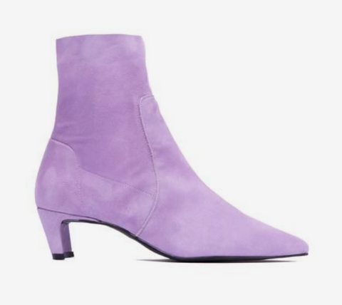 L'Intervalle - Suede Boot in Lilac