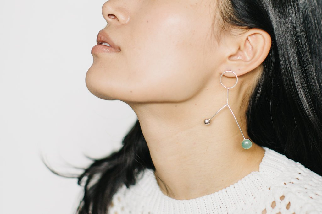 Tiny Asteroid - Mobile Earring